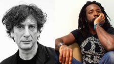Neil Gaiman and Marlon James