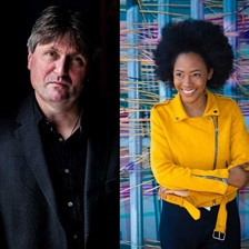Simon Armitage, Joelle Taylor and Theresa Lola.
