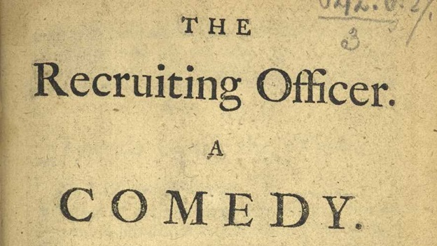 The Recruiting Officer title page