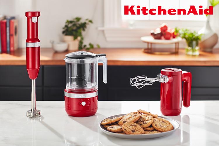 KitchenAid logo and products