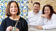 Claudia Roden, Sarit Packer and Itamar Srulovich