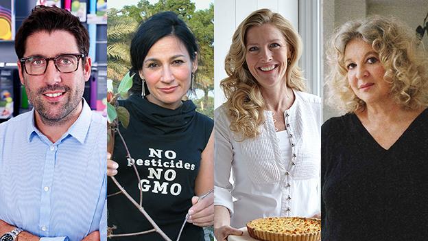 Speaker at the Inspiring Entrepreneurs: Making it by Design evet - left to right: Antony Joseph; Safia Minney; Sophie Conran; Tanya Sarne