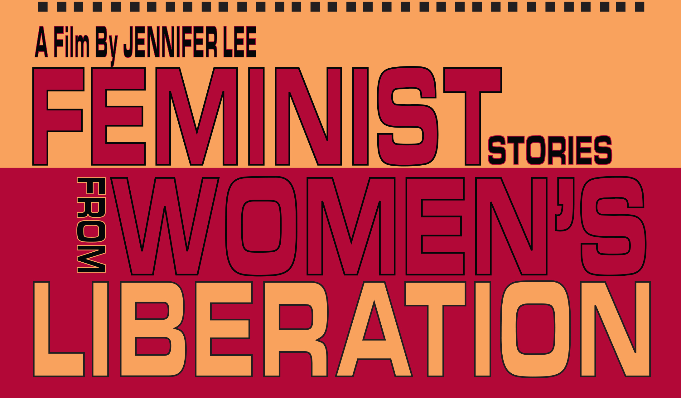 'Feminist Stories From Women's Liberation' poster detail