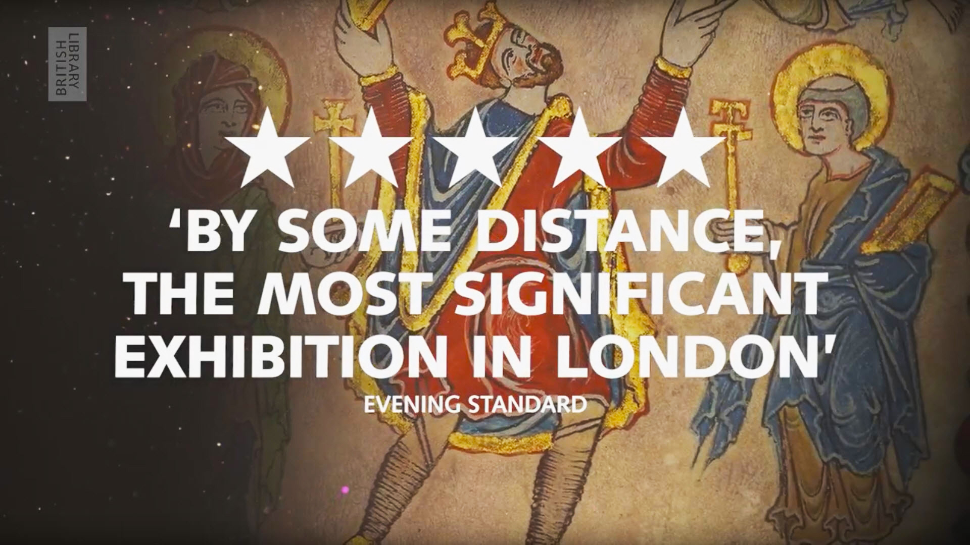 Five star review by Evening Standard – 'By Some Distance, The Most Significant Exhibition In London'
