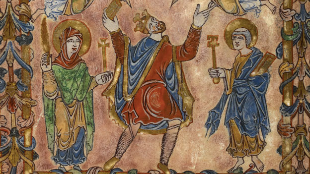 Anglo-Saxon Kingdoms exhibition at the British Library