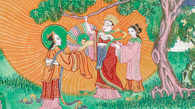 The Life of the Buddha © British Library