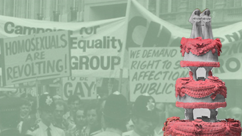 Gay UK: Love, Law and Liberty, free exhibition at the British Library, images © LSE Library and Peter Tatchell