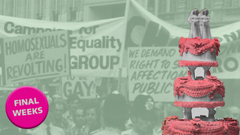 Final weeks for free exhibition Gay UK: Love, Law and Liberty