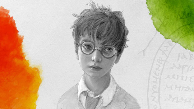 Harry Potter artwork by Jim Kay