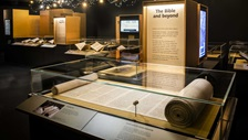 A Torah in the Hebrew Manuscripts exhibition