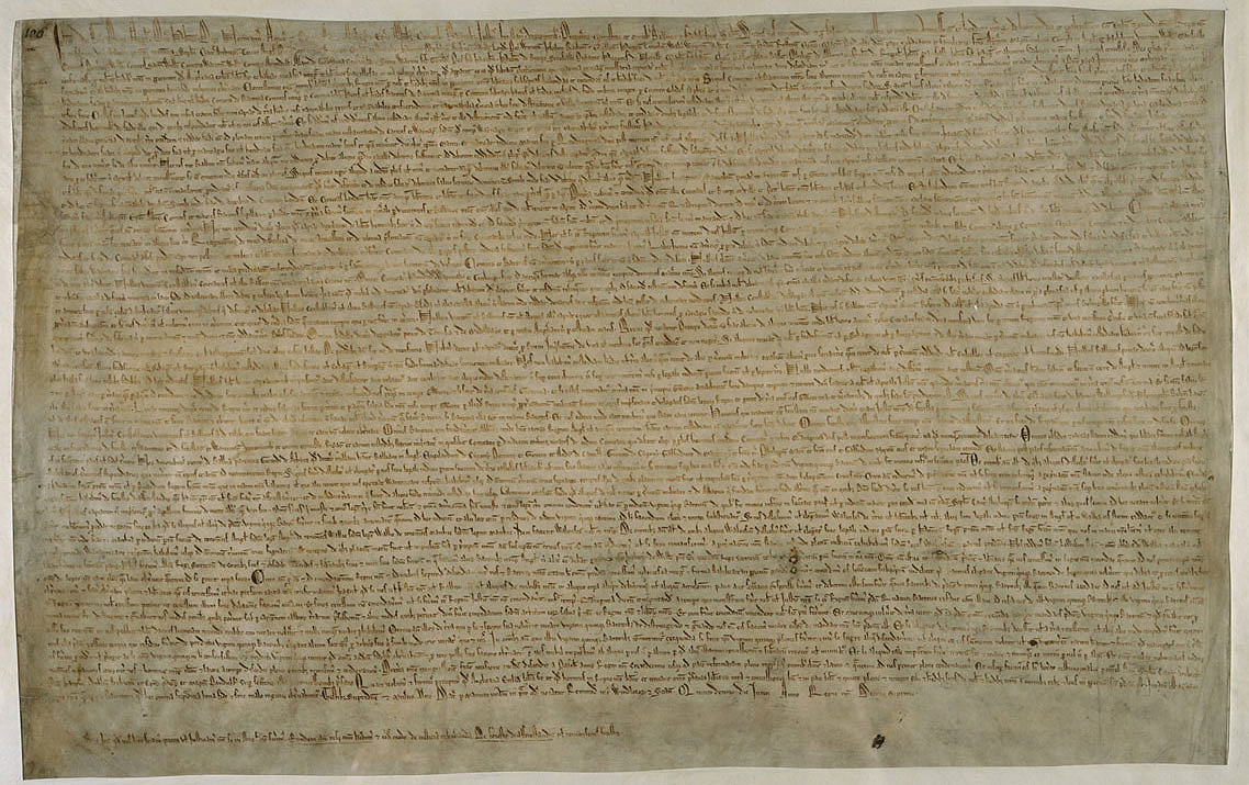 Image fo the Magna Carta