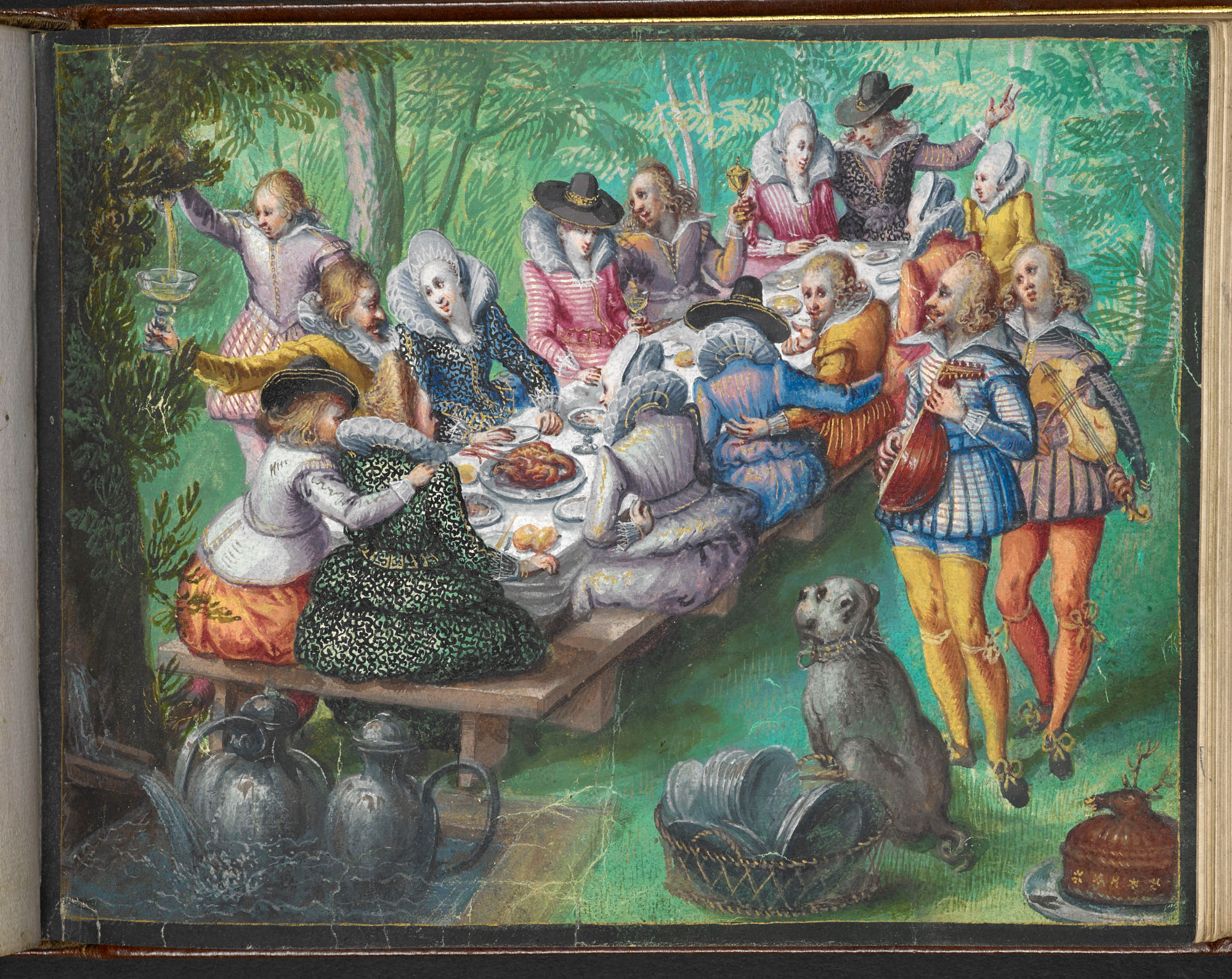 From the friendship album of Moyses Walens of Cologne, Add MS 18991, 1605-1615.