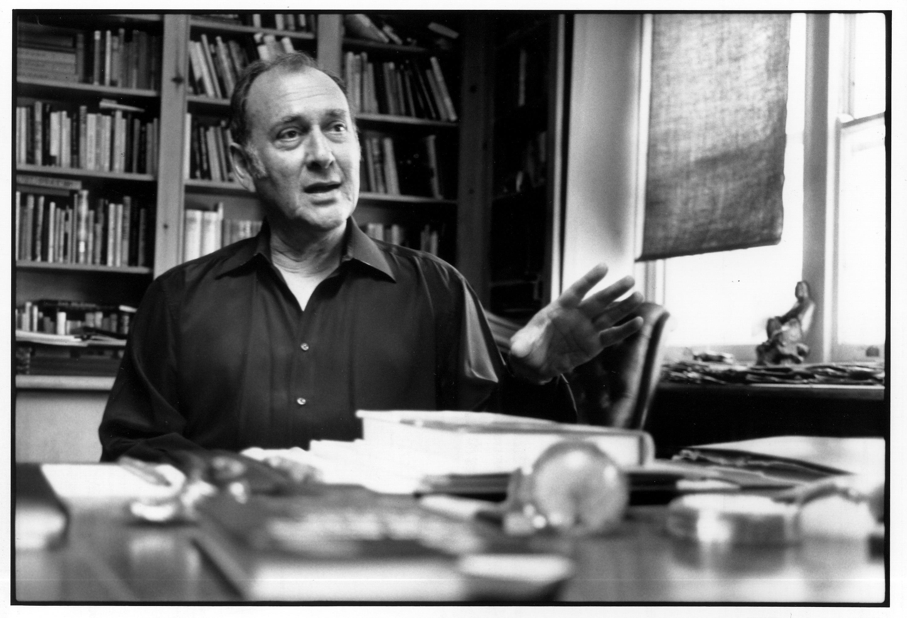 Harold Pinter taken by Martin Rosenbaum