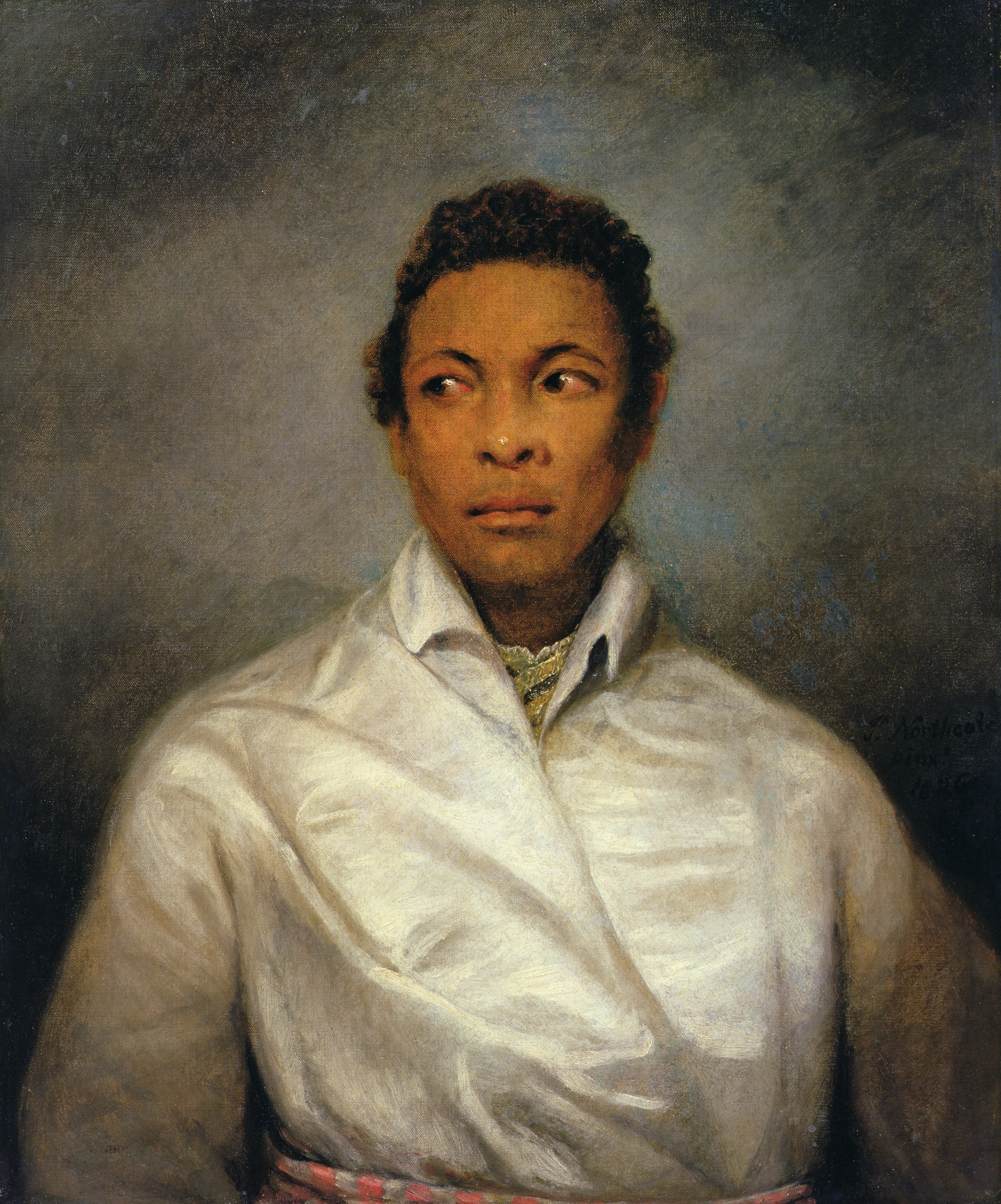 Ira Aldridge as Othello by James Northcote, 1826. Courtesy of Manchester Art Gallery. Aldridge was the first black actor to play Othello in Britain