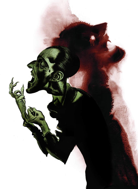 Imagen del terror y de la maravilla: El cartel imaginación gótica