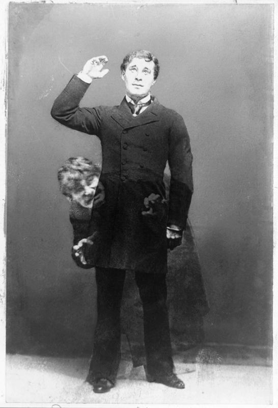 Richard Mansfield as Dr Jekyll and Mr Hyde (1887)