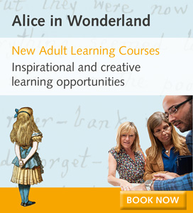 New Adult Learning Courses Alice in Wonderland