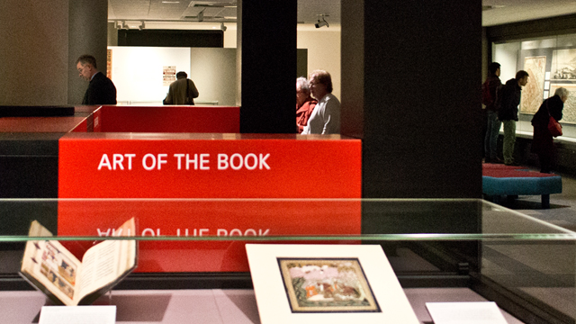 Treasures of the British Library permanent exhibition