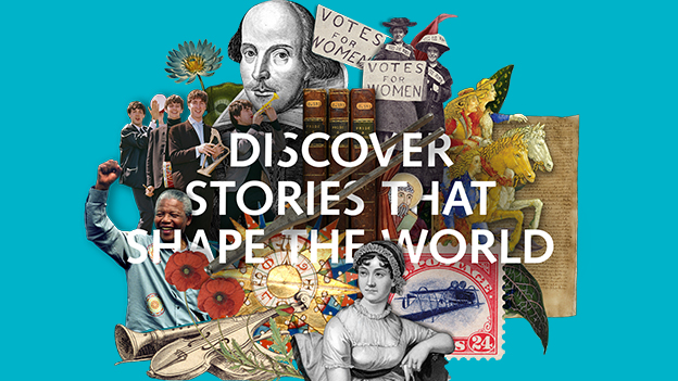 Treasures of the British Library. Discover stories that shape the world.