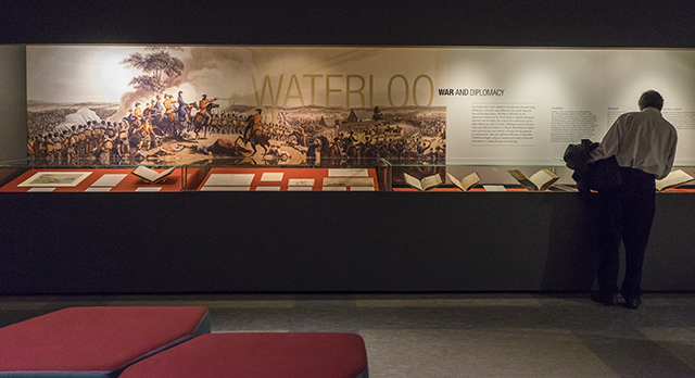 Waterloo display (Credit – Tony Antoniou)