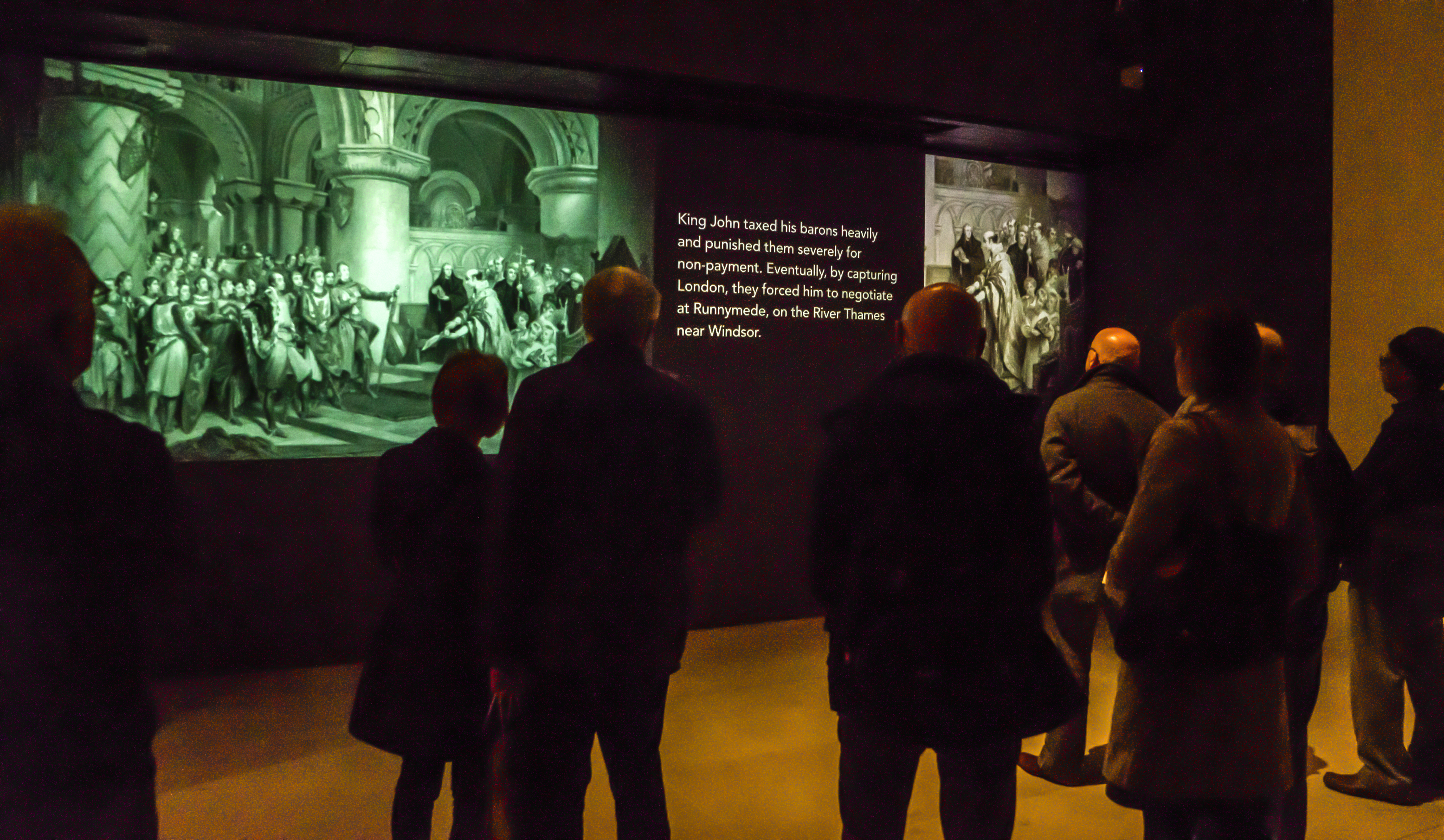 Group visits to British Library exhibitions. Image: Magna Carta Exhibition credit Tony Antoniou