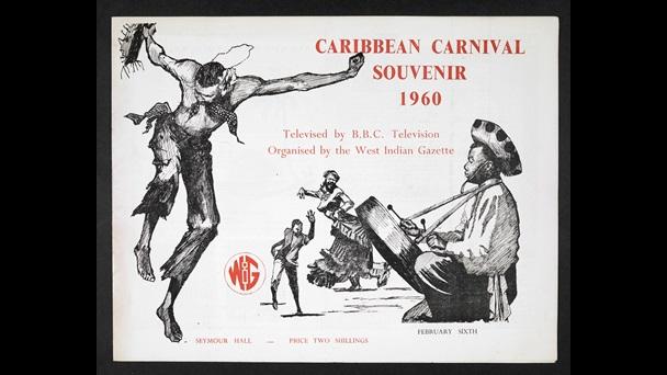 Claudia Jones Caribbean Carnival Souvenir Programme 1960 The British Library