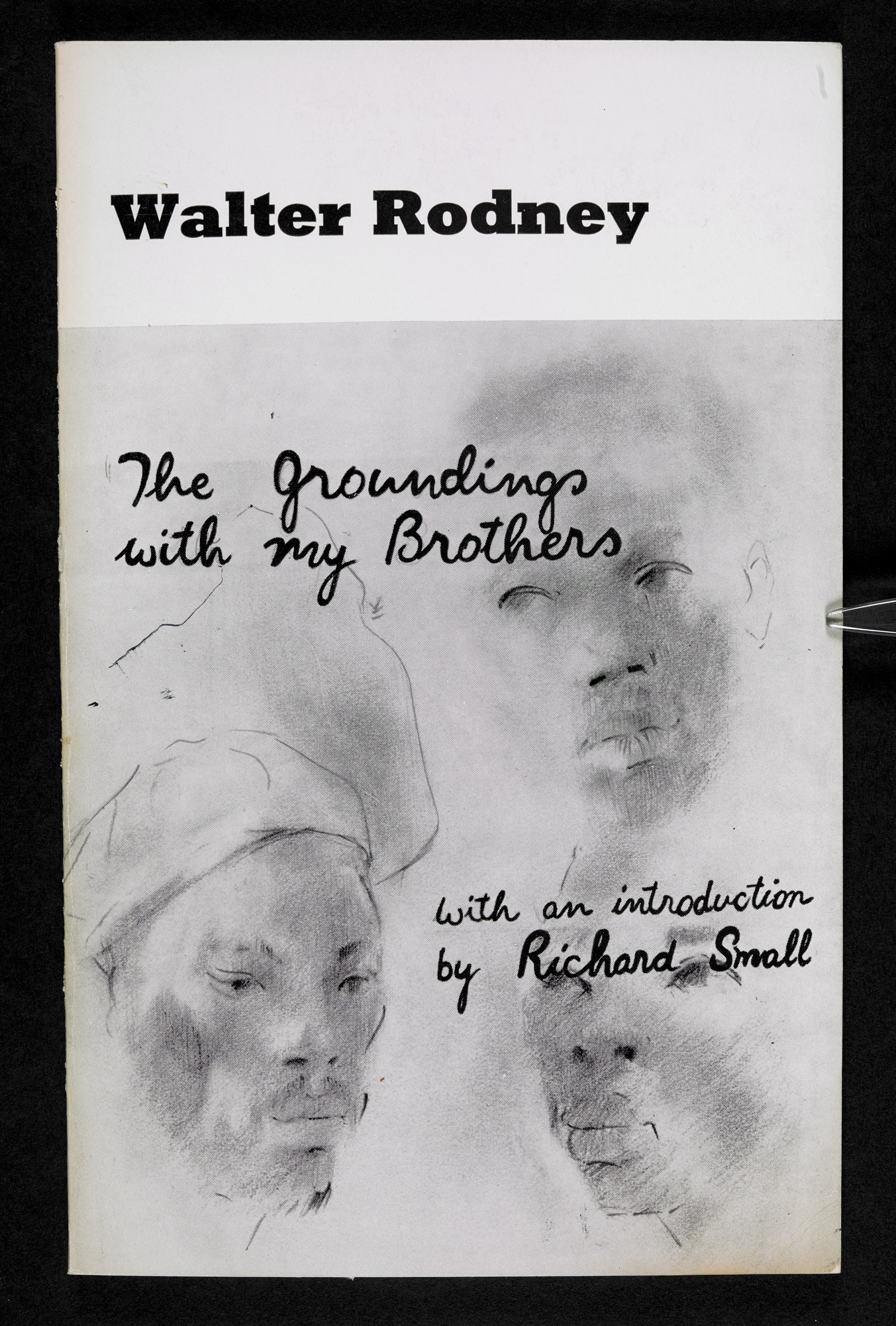 Cover of Walter Rodney's 'The Grounding with my Brothers' by Errol Lloyd