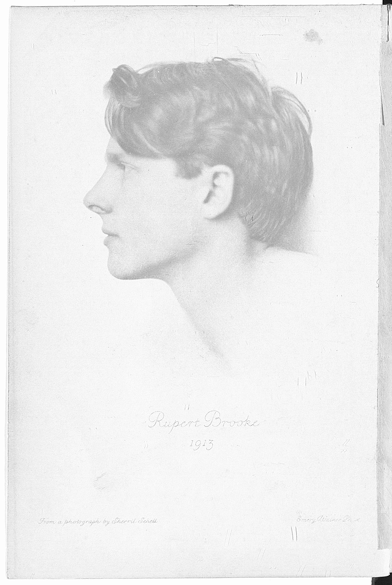 Published after Rupert Brooke died, 1914 and other poems are classic examples of war poetry.