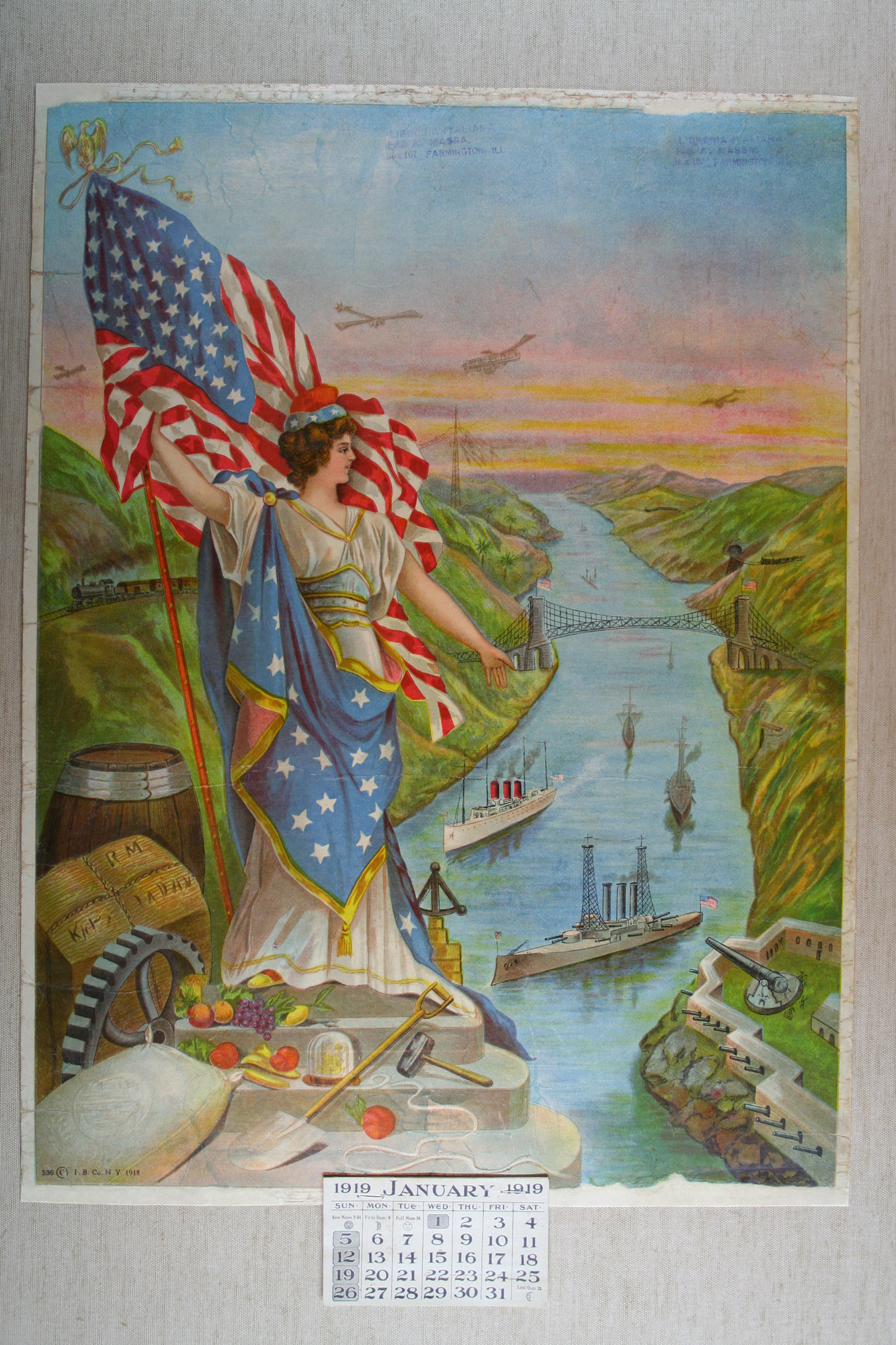 Allegory of the United States of America