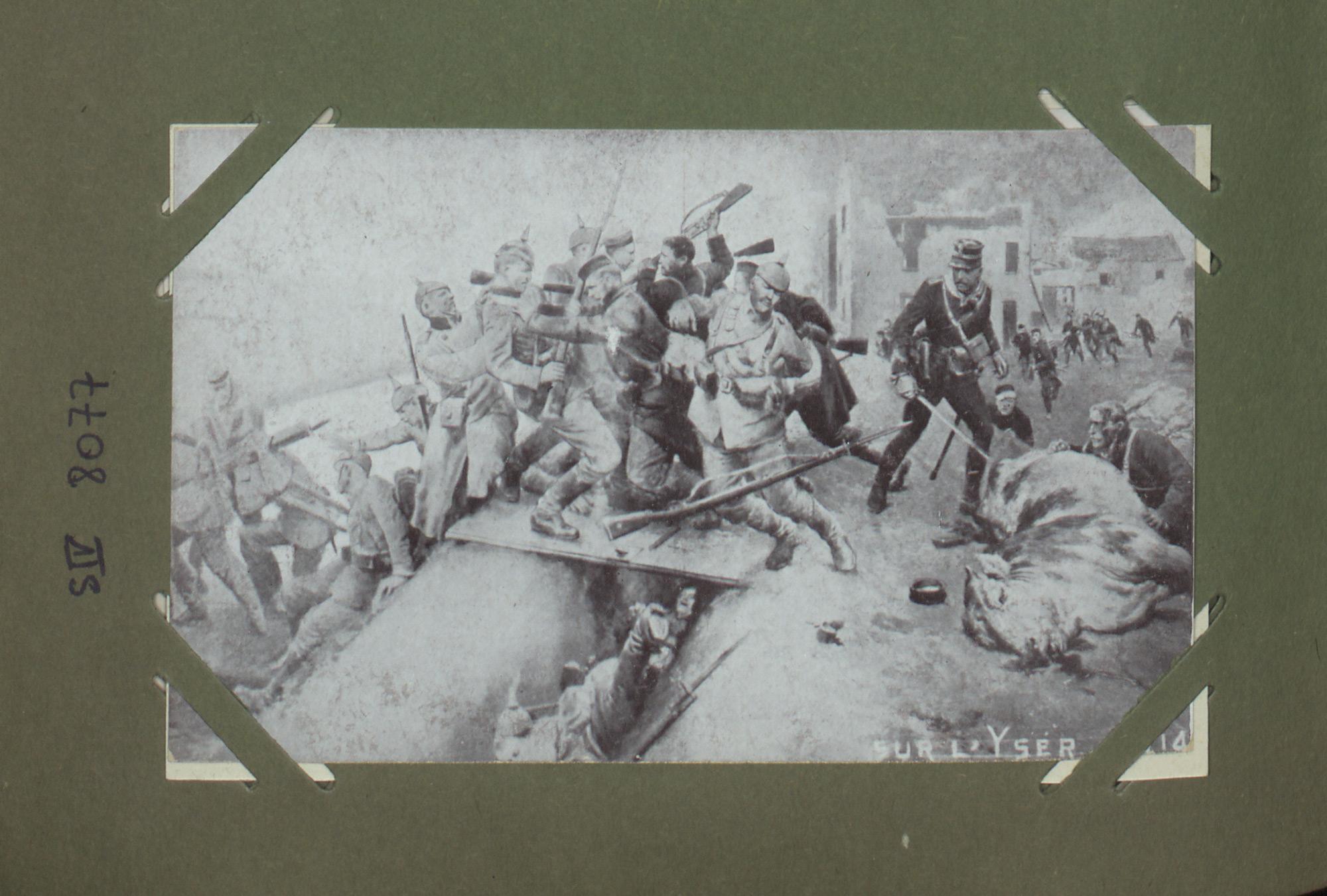 Sur l'Yser – 1914
