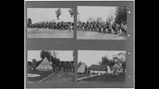 Photographs of lines of troops and military camps, from the Canadian War Memorials copyright deposit