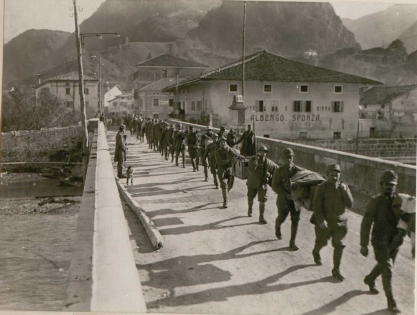Captured Italians in Resiutta