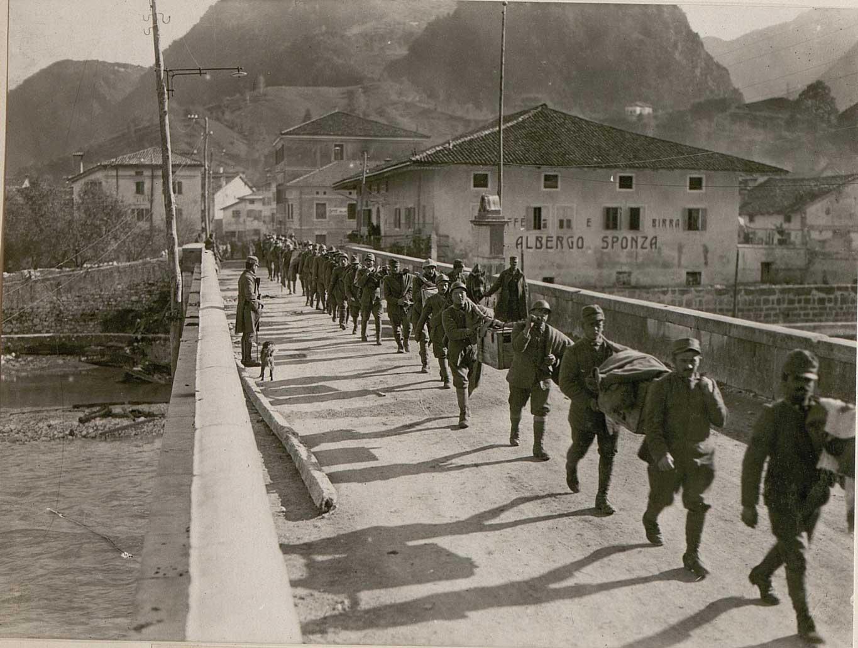 Captured Italians in Resiutta