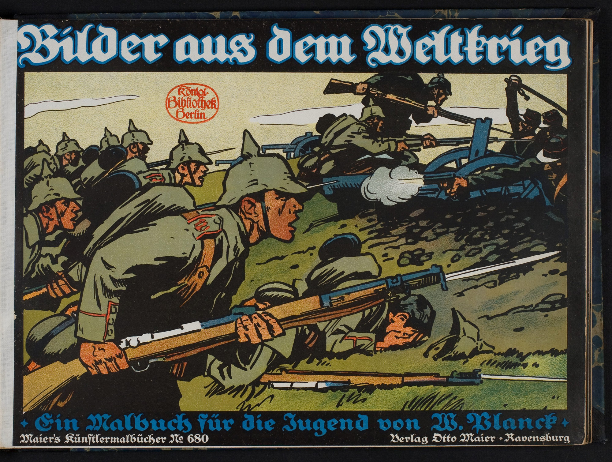 Pictures from the war: a colouring book for young people