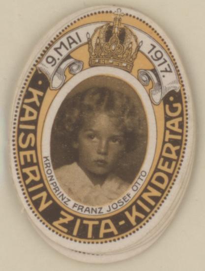 Empress Zita children's day - 9 May 1917