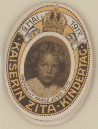 Empress Zita children's day - 9 May 1917