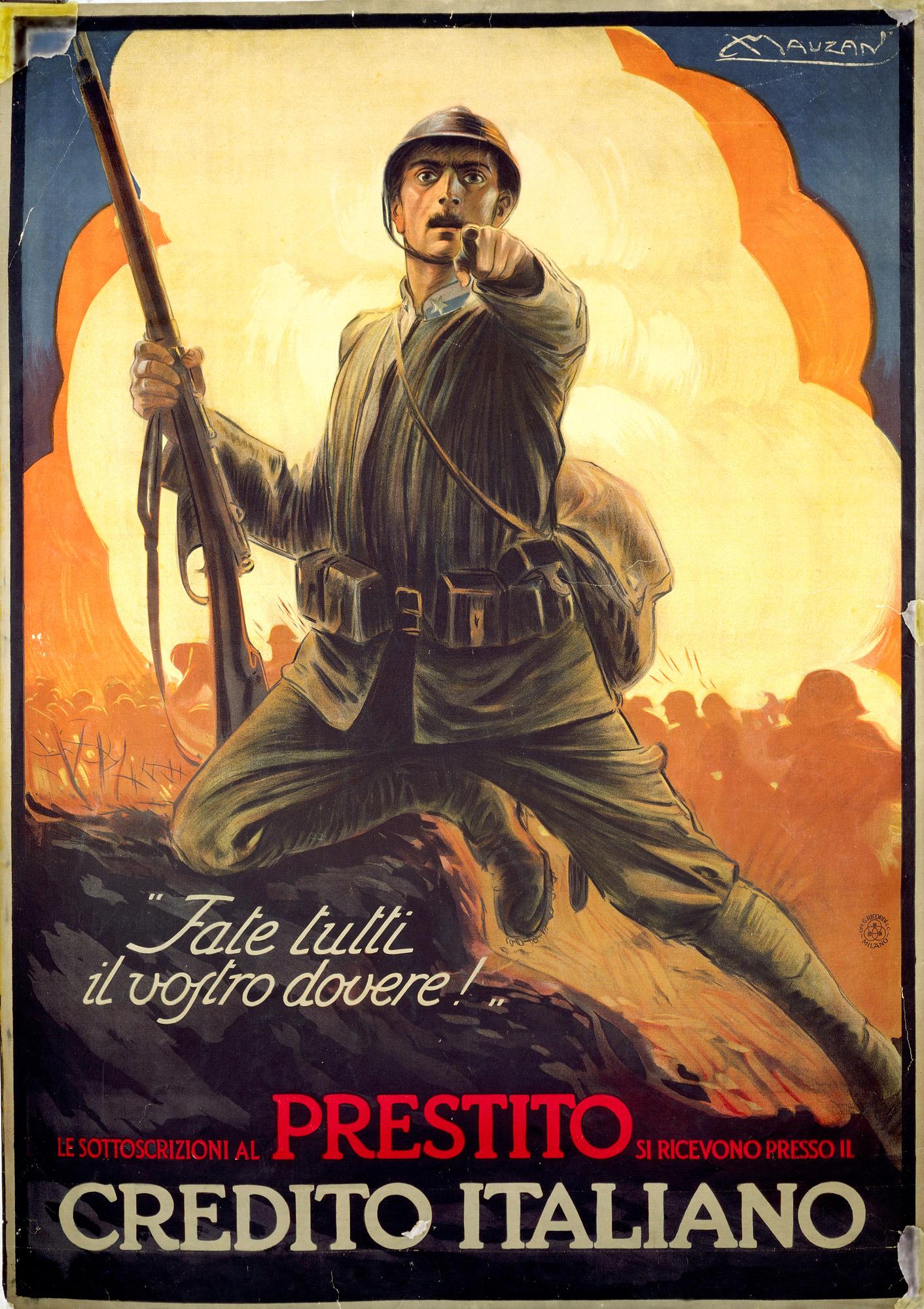 Fate tutti il vostro dovere! [Everyone do your duty!]