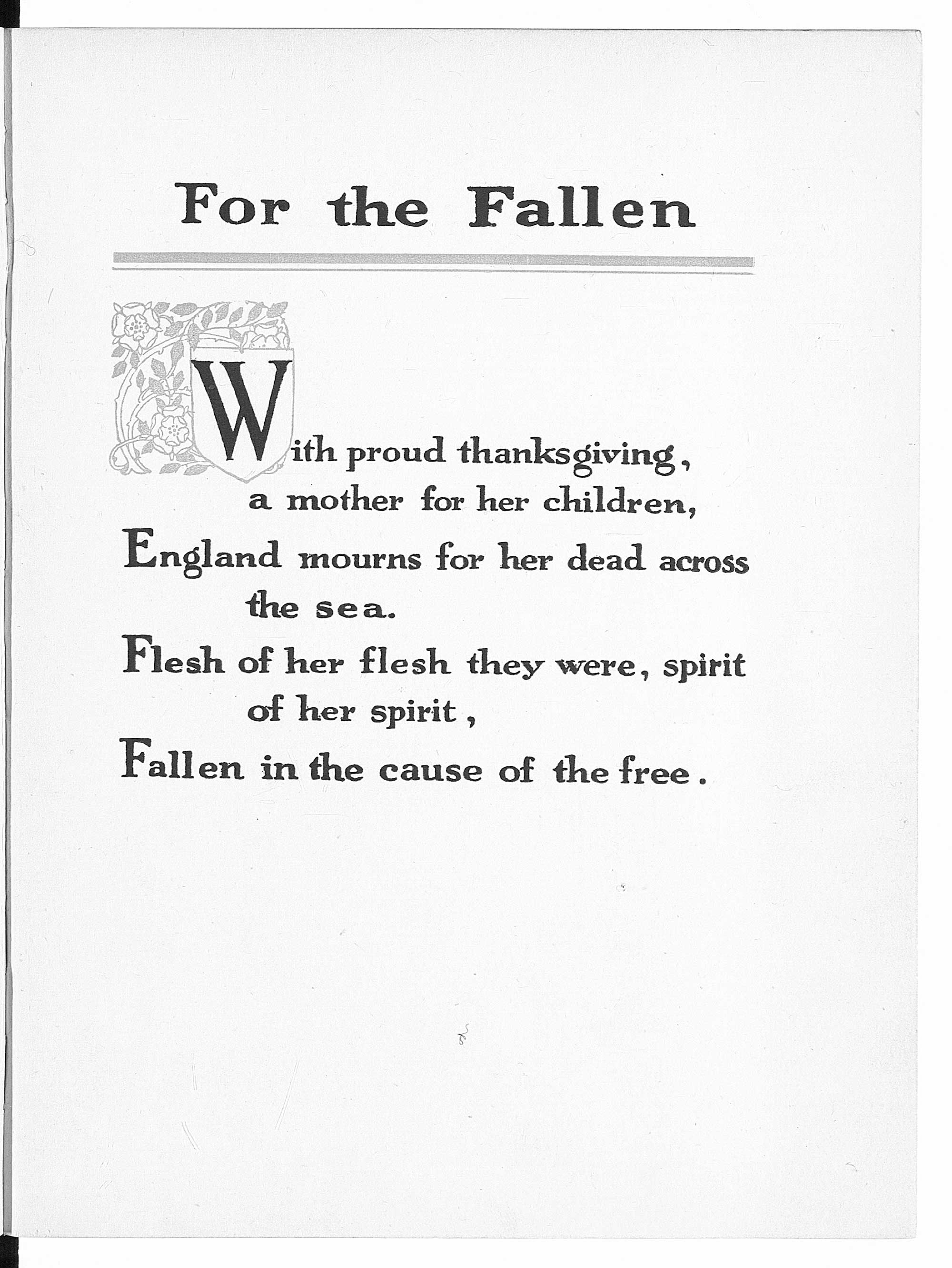 Reframing First World War Poetry The British Library