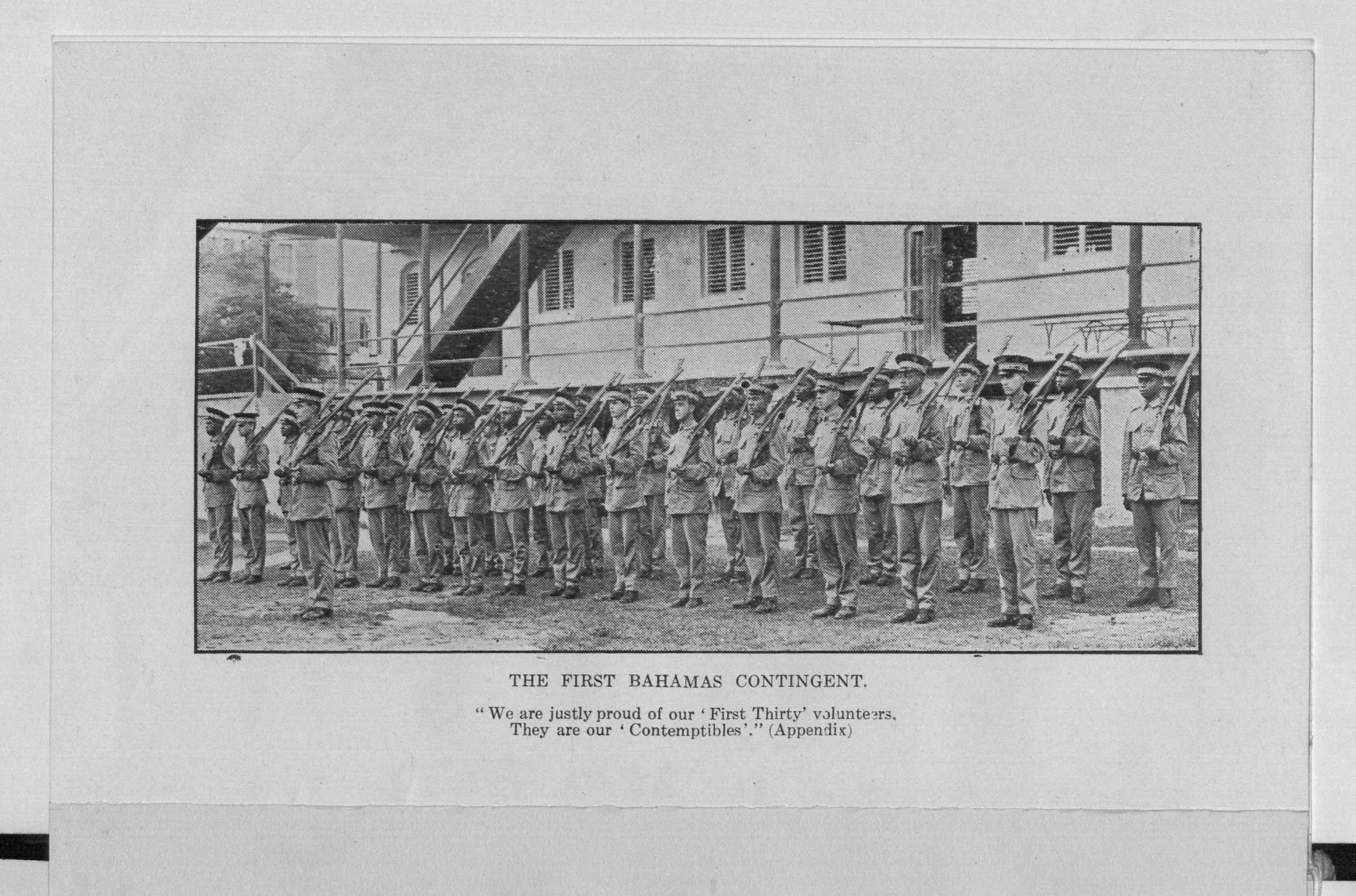 Publication from 1919 giving a glimpse into the experiences of one of the West Indian battalions.