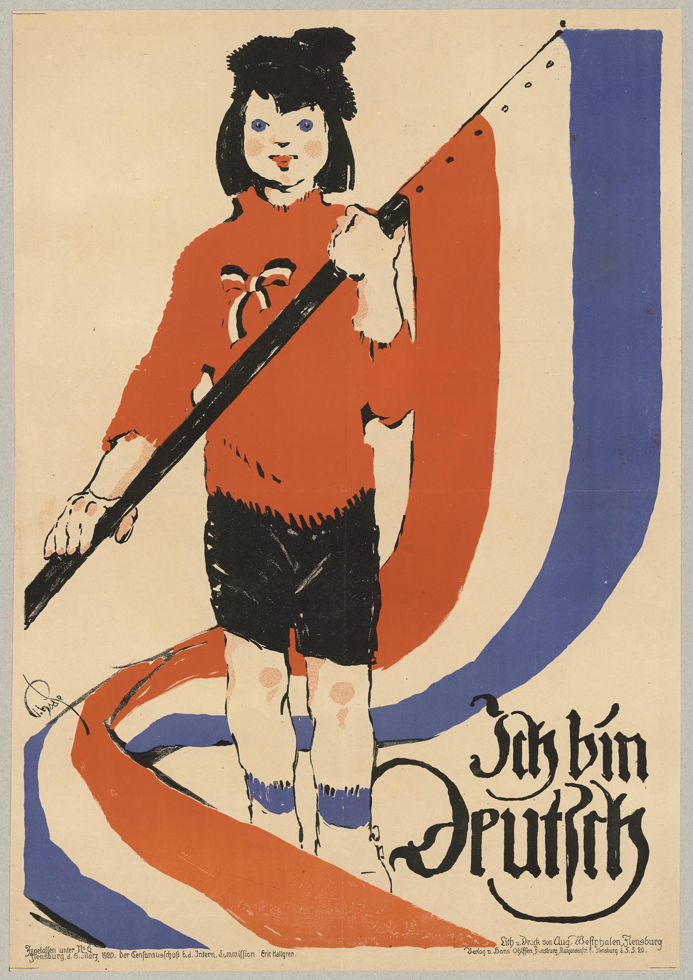 I am German: agitation prior to the referendum in Schleswig