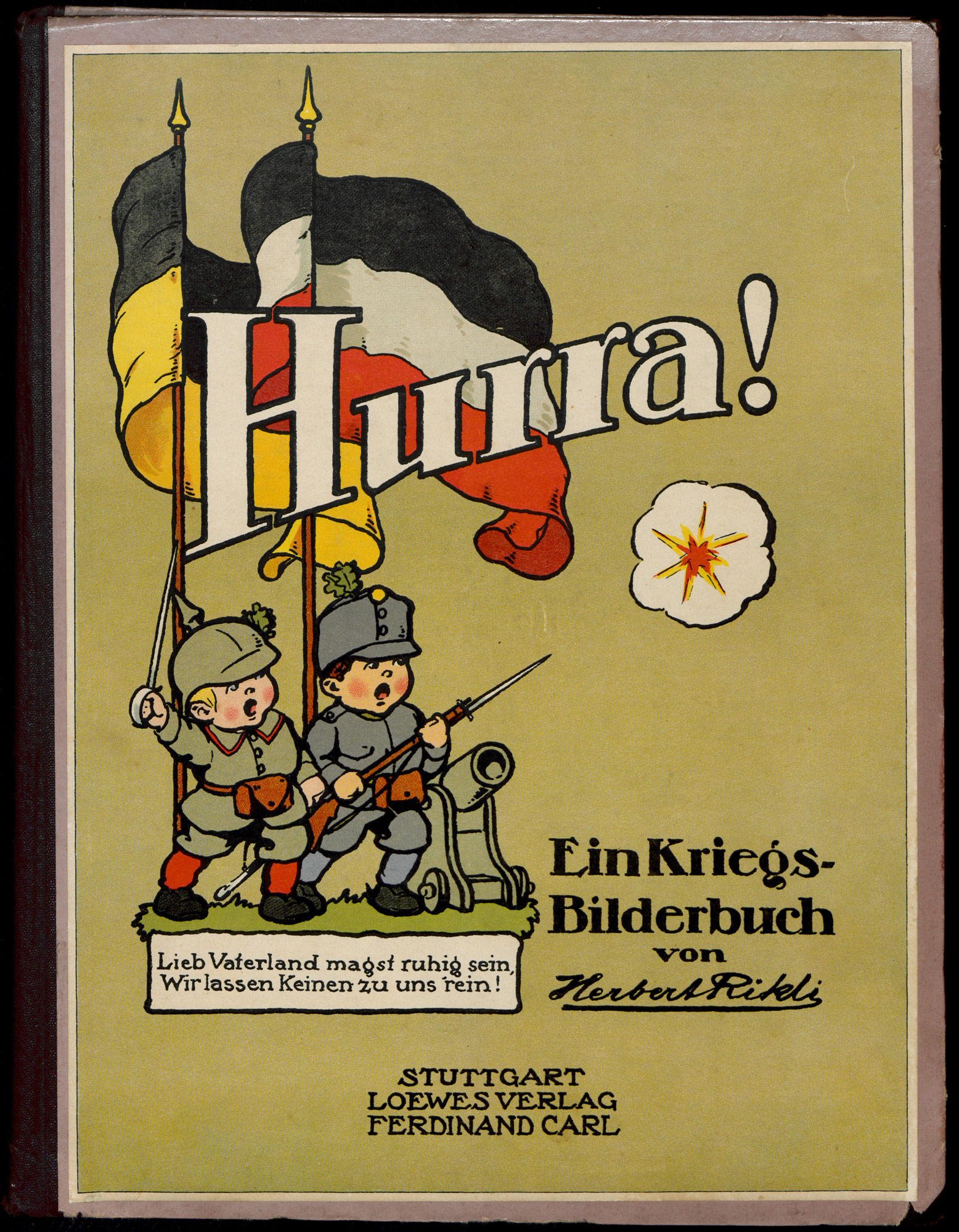 Hurray! A war picture-book