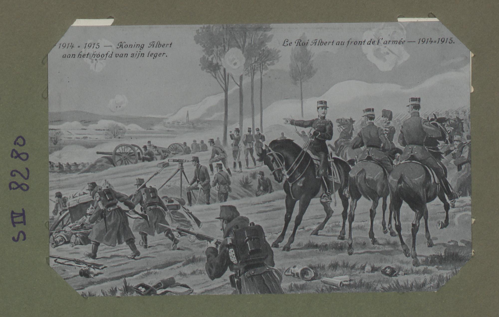 Le Roi Albert au front de l'armée – 1914-1915
