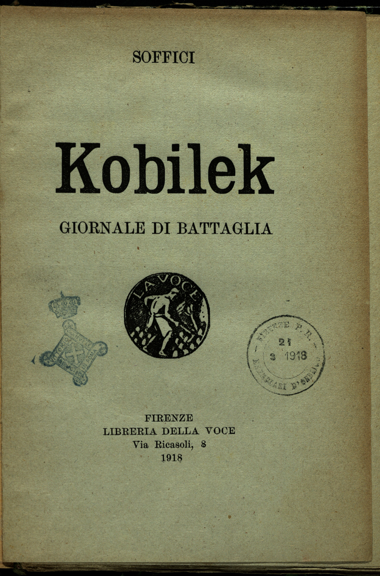 Kobilek. Newspaper of the war