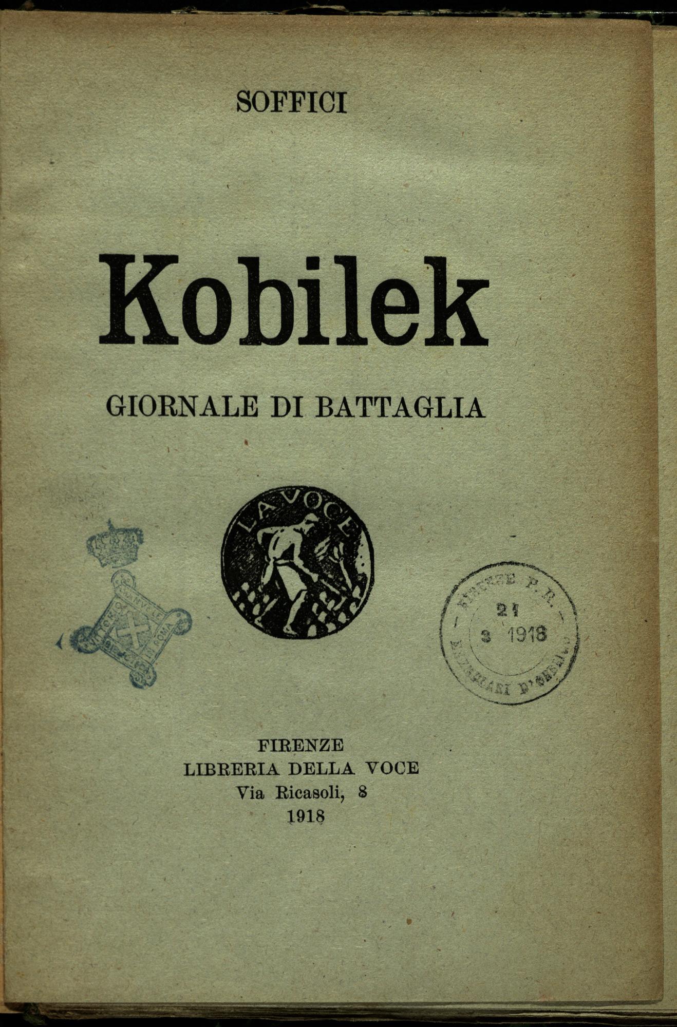 Kobilek. Newspaper of the war