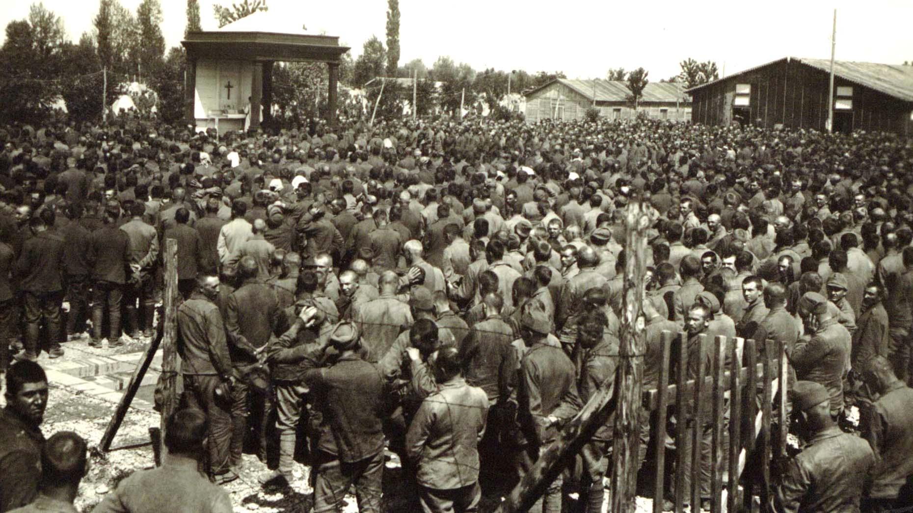 Concentration camp for prisoners (detail)