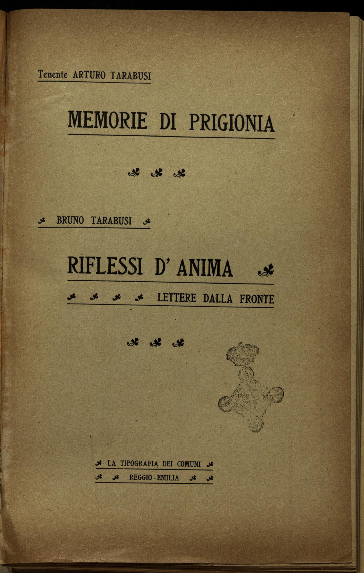 Memories of imprisonment