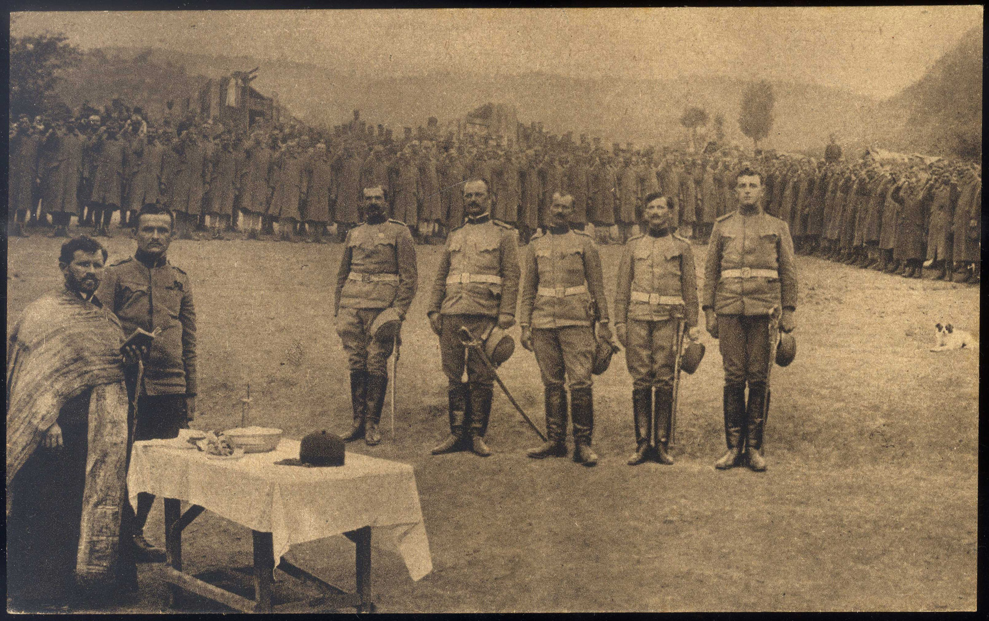 Oaths of soldiers from different religious groups