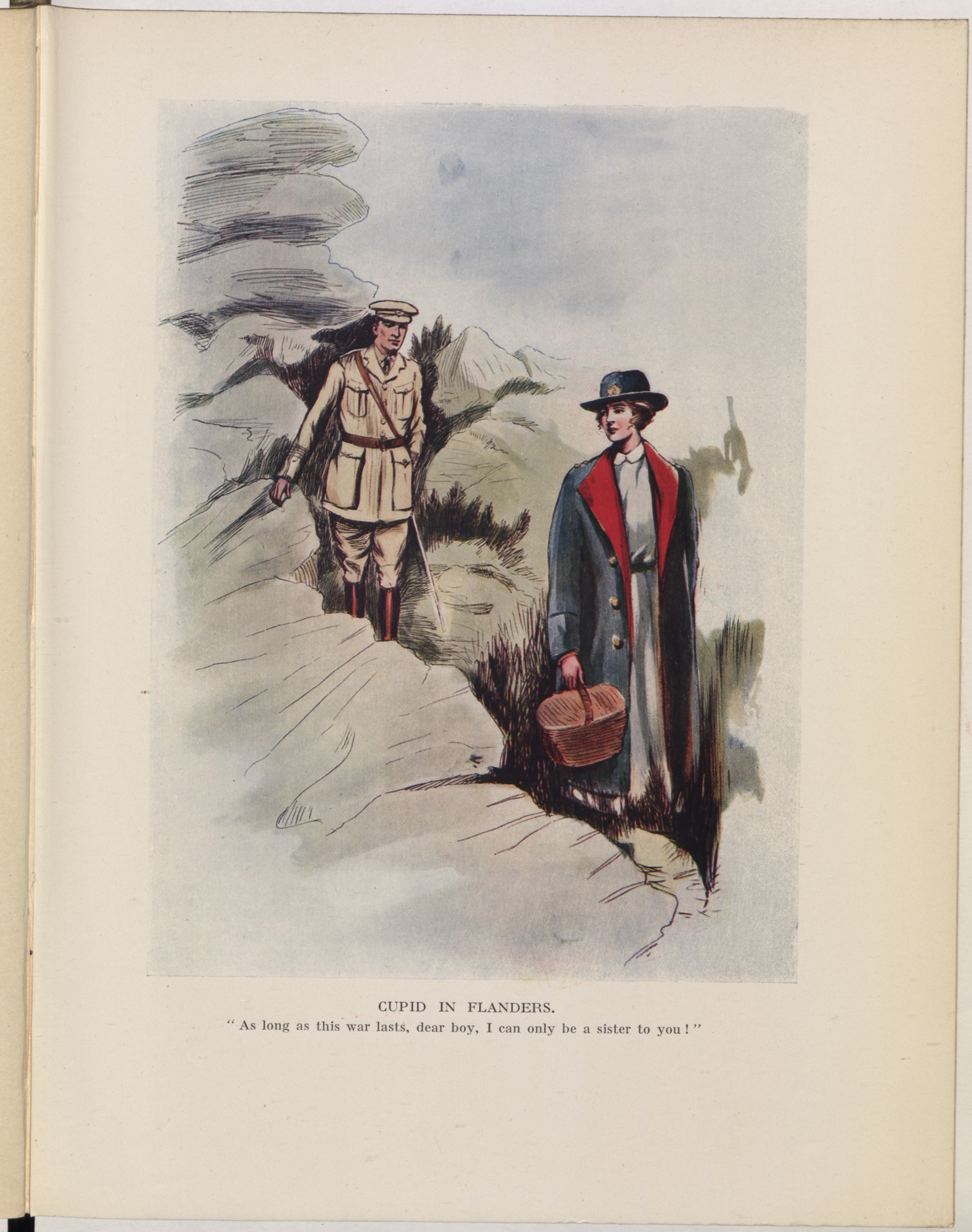 From 'Oh, Canada!', a medley of stories, verse, pictures and music contributed by the Canadian Expeditionary Force.