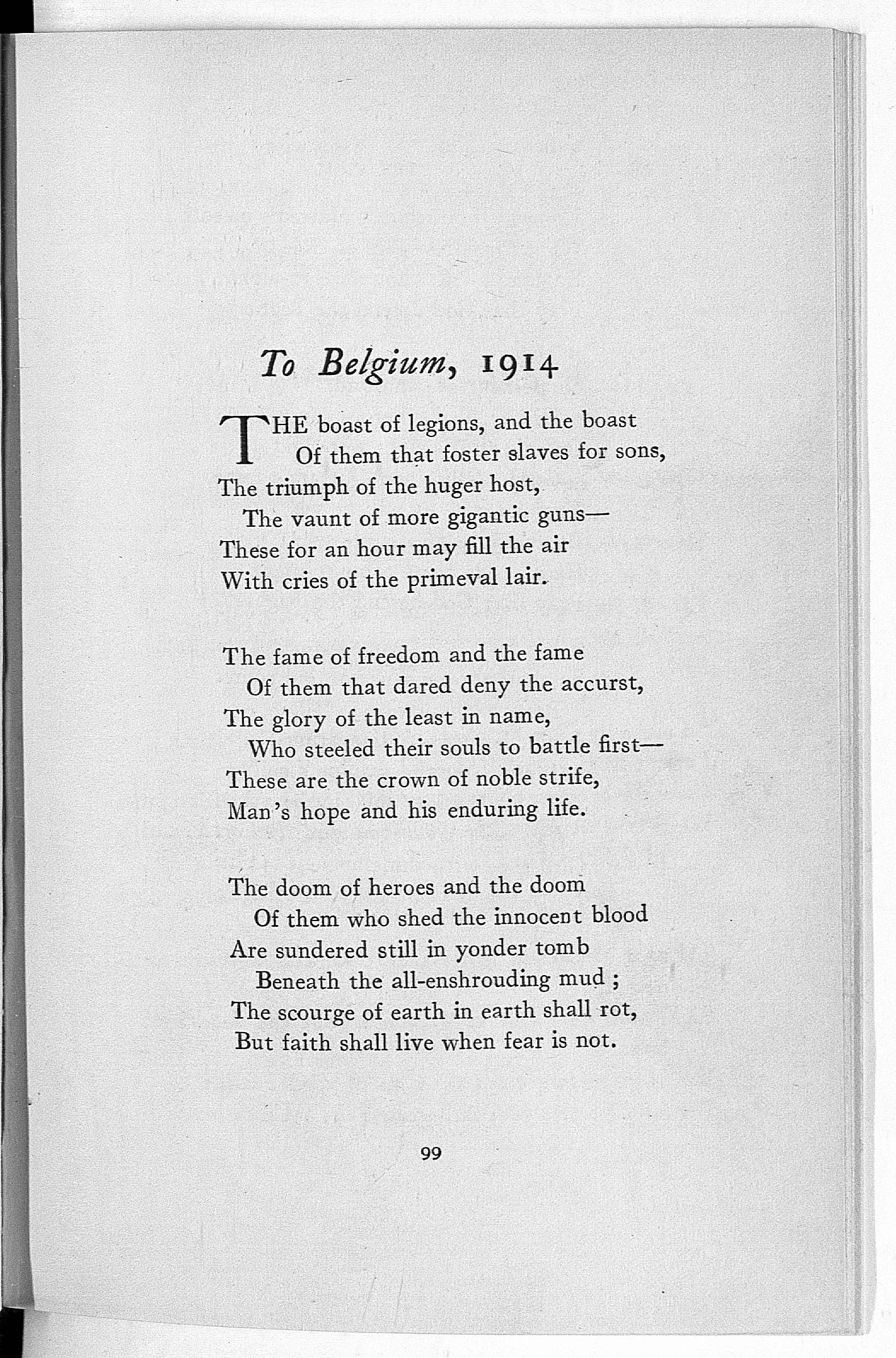 reframing first world war poetry  the british library  first published in  henry newbolts patriotic poems were reprinted  numerous times during the war