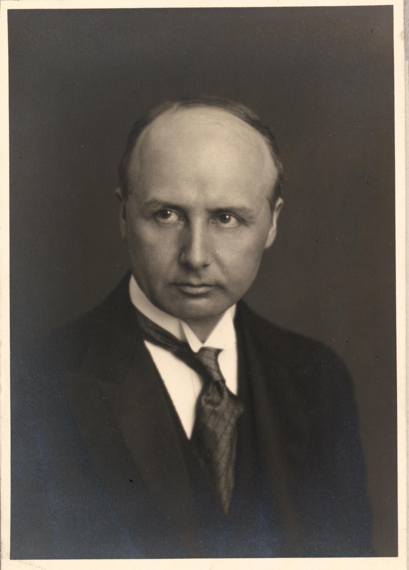 Portrait of Erik Scavenius